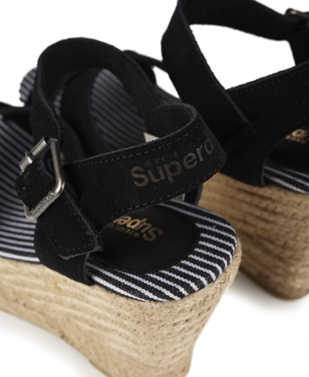 Superdry Isabella Espadrille Wedge Sandals