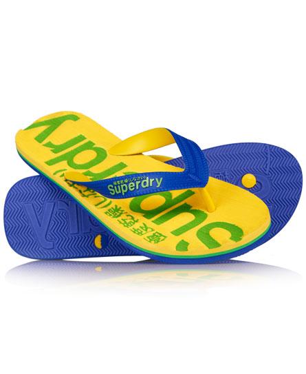 Superdry Flip Flops Yellow