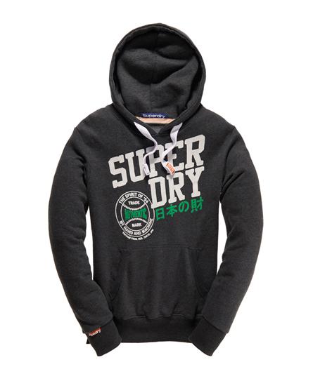 Superdry Ball Park Hoodie Black