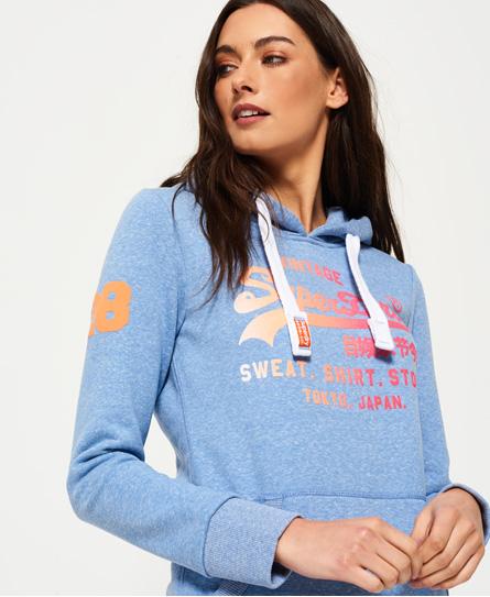 Superdry Sweat à capuche Shirt Shop Fade Parcourir Réduction Acheter Un Excellent Pas Cher Vente Authentique Se LtopbAA8