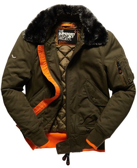 Superdry Aviator Bomber Jacket - Men's Jackets