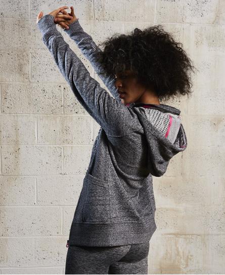 Superdry SD-X hættetrøje med lynlås