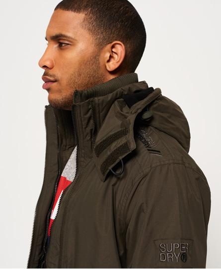 Superdry Pop Zip Arctic SD-Windcheater-jakke med hette