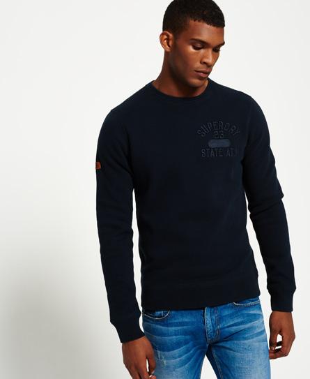 Superdry Superdry Applikeret sweatshirt med rund hals