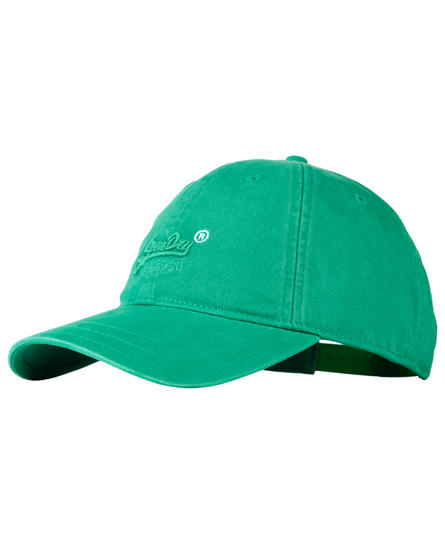 green Superdry Orange Label Solo Cap