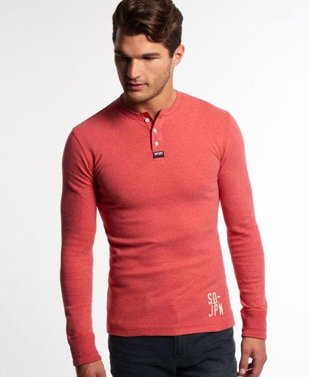 Superdry Heritage Long Sleeved Grandad-Shirt
