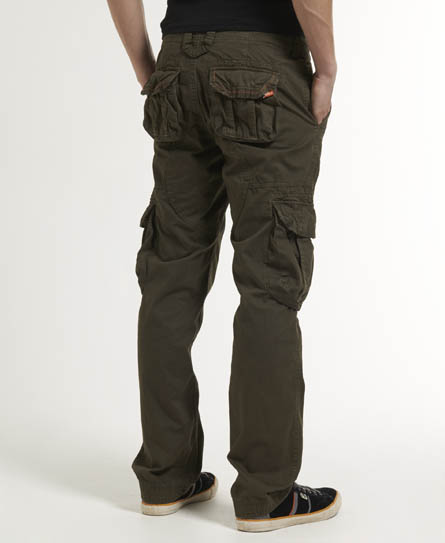 Mens - Core Cargo Pants in Cabin Green | Superdry