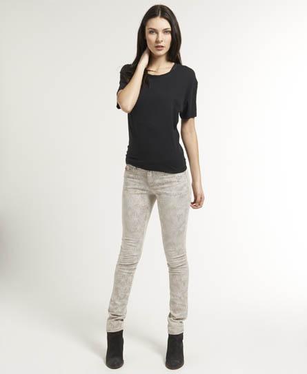 Superdry Standard Skinny Jeans Grey
