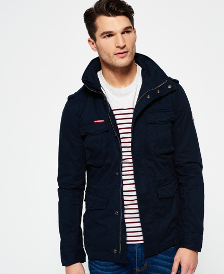 medianoche Superdry Cazadora Rookie Military