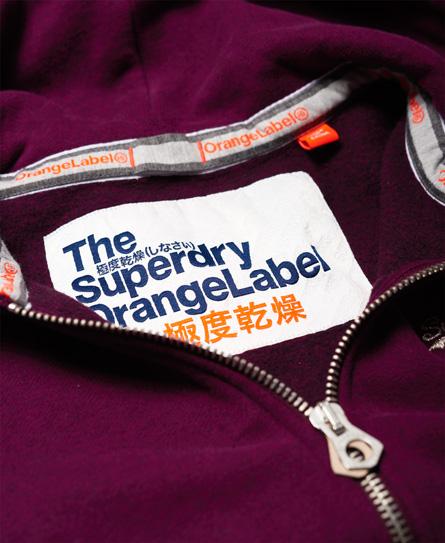 Superdry Orange Label Primary Kapuzenjacke mit Reißverschluss