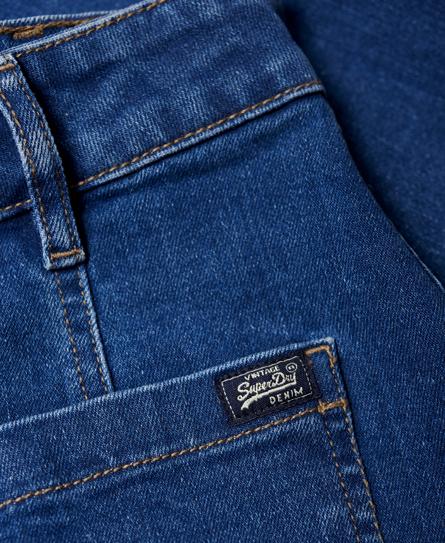 Superdry A-Line Denim Mini Skirt
