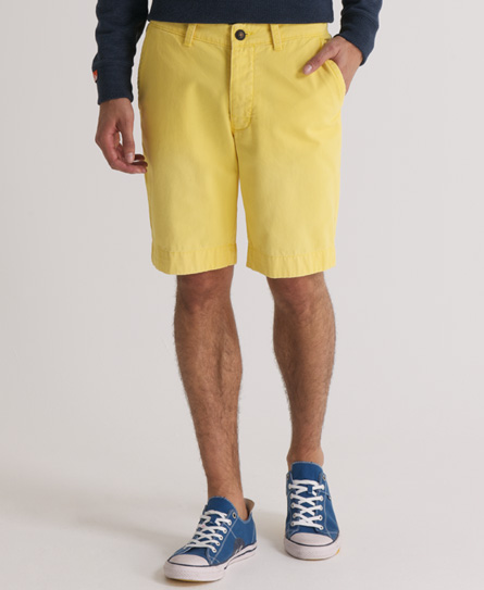 Superdry Commodity Chino Short Yellow