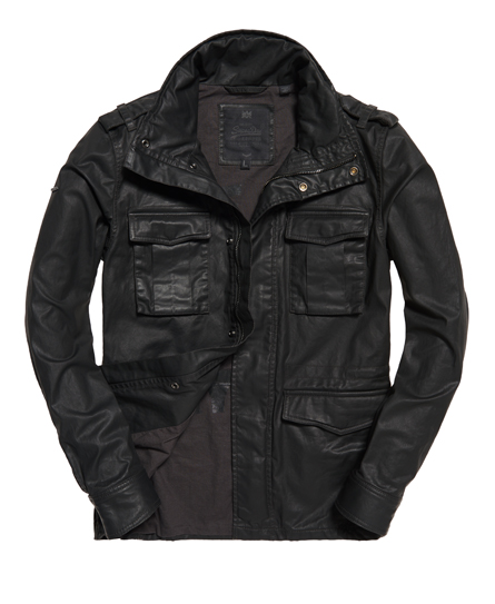 Superdry Rookie Wax Military Jacket