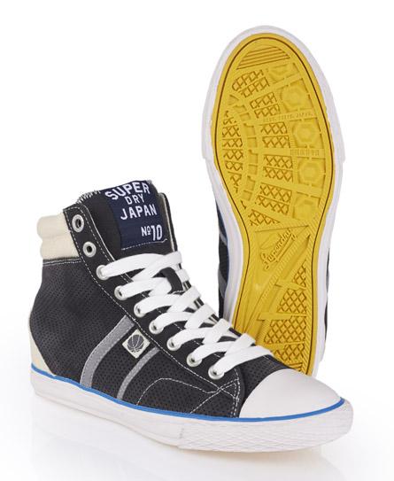 Superdry Hammer High Shoes Dark Grey
