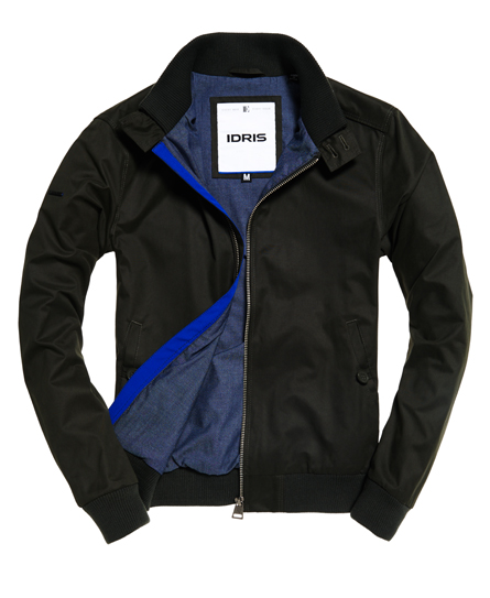 Superdry IE Microfibre Harrington Jacket