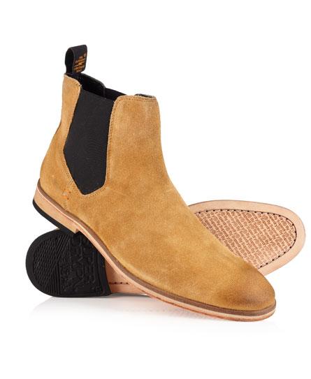 Superdry Meteora Chelsea Boots Tan