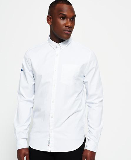 Se Superdry Superdry Bandana Oxford-skjorte ved SuperDry
