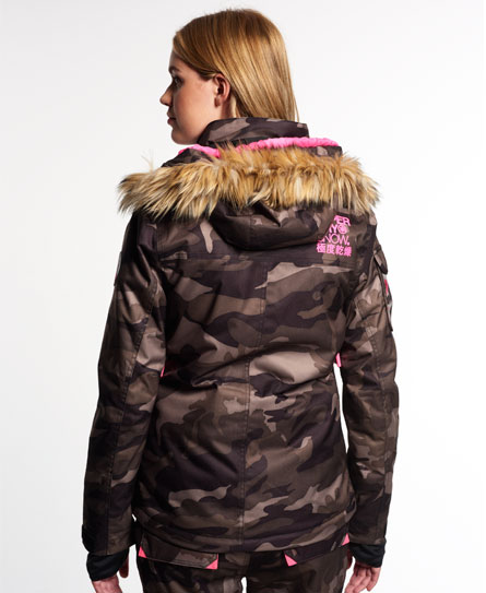 superdry veste de ski ultimate snow service pour femme. Black Bedroom Furniture Sets. Home Design Ideas