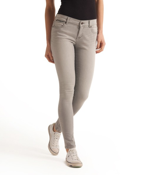 Womens - Standard Skinny Jeans in Valley Grey | Superdry