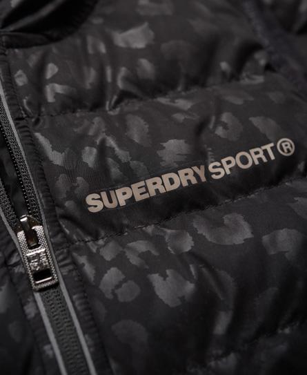 Superdry SD Sport Gym vattert regnjakke