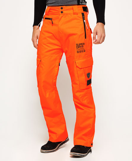 fluro orange Superdry Snow Pants