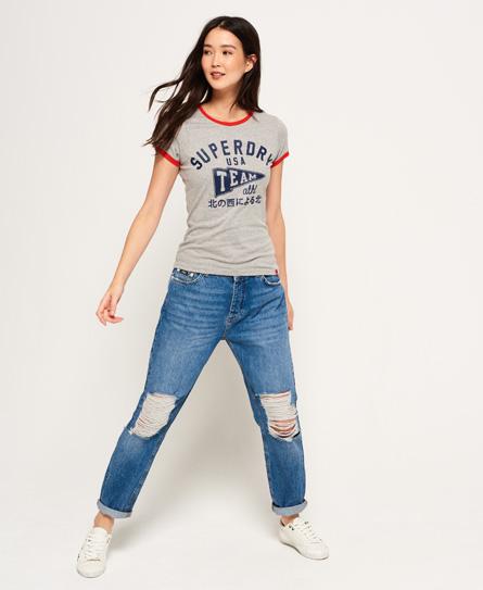 Superdry Team Ringer T-Shirt