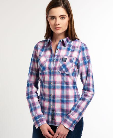 Superdry Classic Lumberjack skjorte - Dame Skjorter