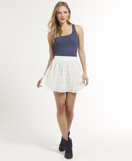 Superdry Dovecot Skirt White