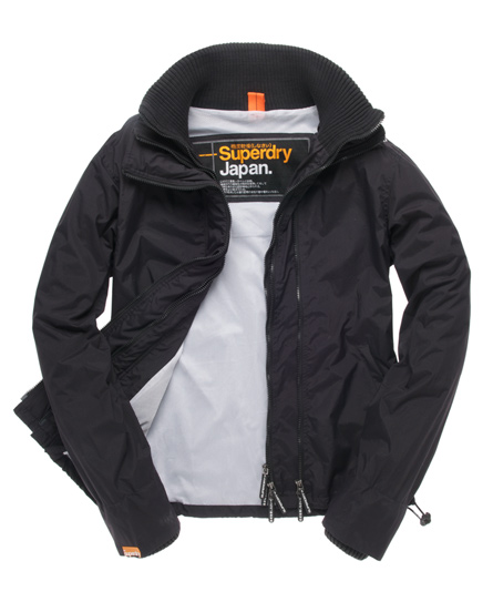 Superdry Technical Windcheater Black