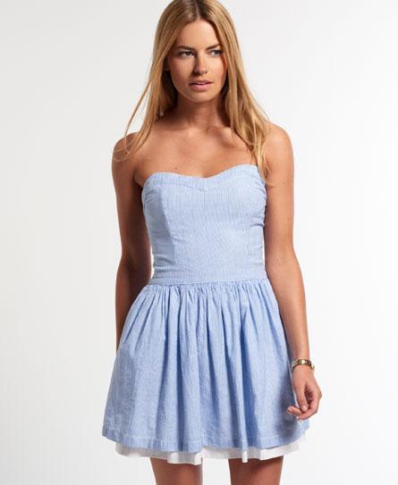 Superdry 50's Seersucker Dress - Women's Dresses