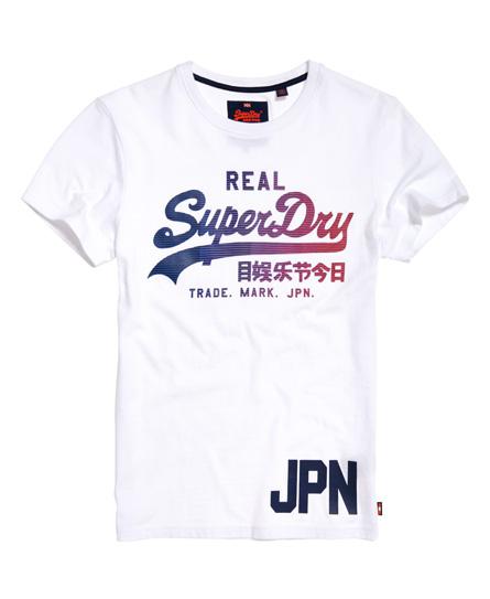 weiß Superdry Vintage Logo 1st T-Shirt