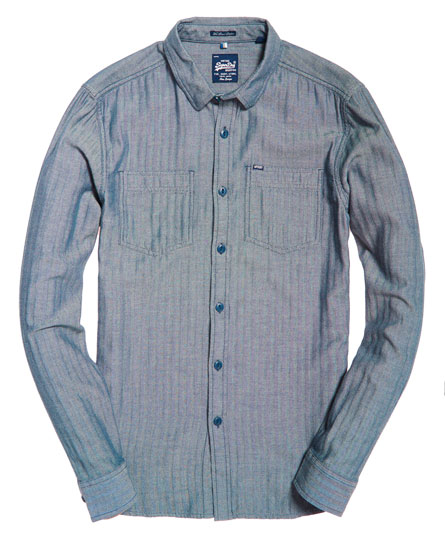 Superdry Tweed Riveter Shirt