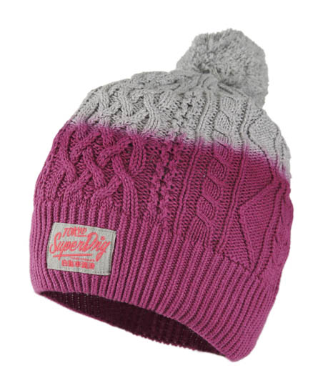 Superdry Vacation Beanie Pink
