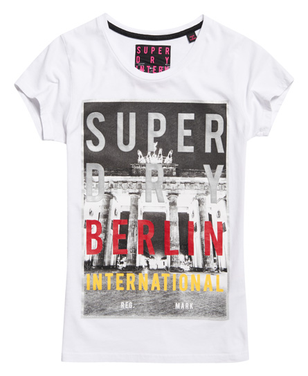 Superdry T-shirt Box Photo City Berlin