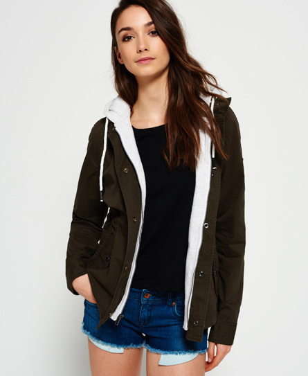 Rookie Double Crop Parka Jacket