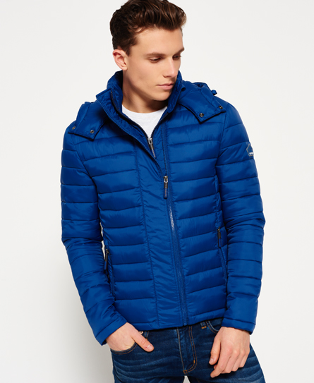 Fuji Double Zip Hooded Jacket