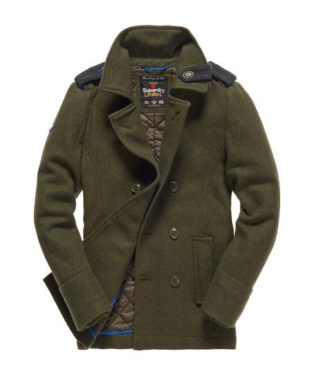 Superdry Bridge Pea coat - Men's Jackets