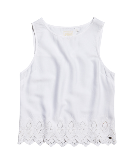 Broderie Anglaise topje