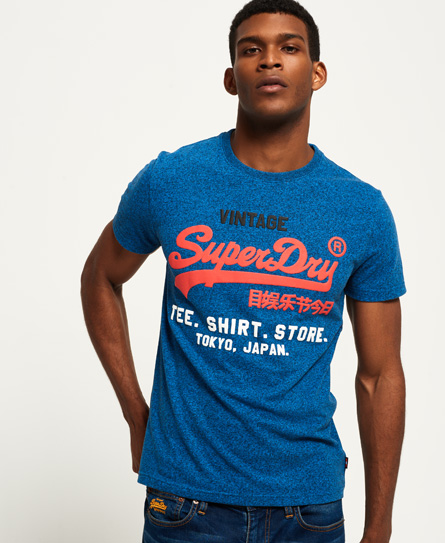 Superdry Shirt Shop Tri T-Shirt.