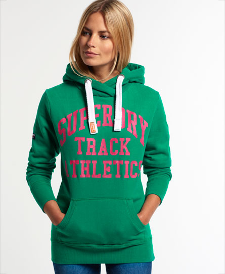 superdry athletics high hoodie damen hoodies. Black Bedroom Furniture Sets. Home Design Ideas
