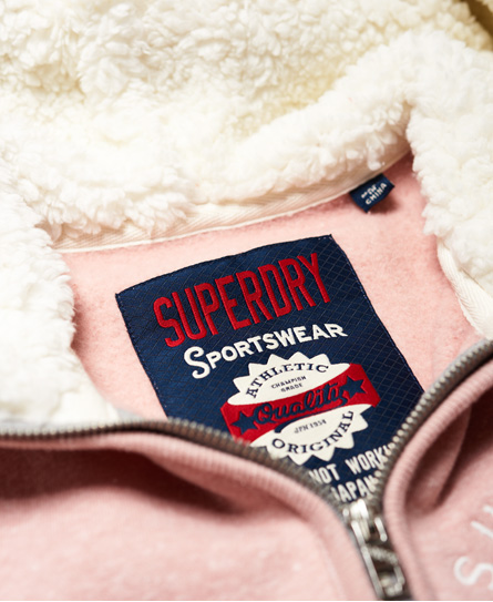Superdry Sweat à capuche zippé Applique