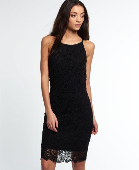 Se Superdry Superdry Racy Lacy kjole ved SuperDry