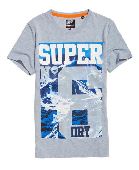 superdry super no 6 mountain t shirt herren t shirts. Black Bedroom Furniture Sets. Home Design Ideas
