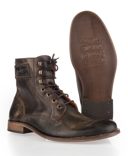 Superdry Logan Boot Brown