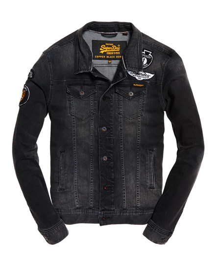 Superdry Rogue Patch Trucker Denim Jacket