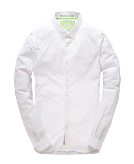 Superdry London Button Down Shirt White
