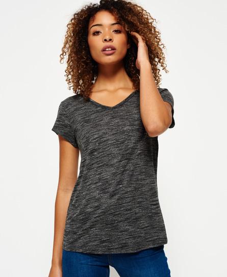 noir Superdry T-shirt Slinky Sport Essential