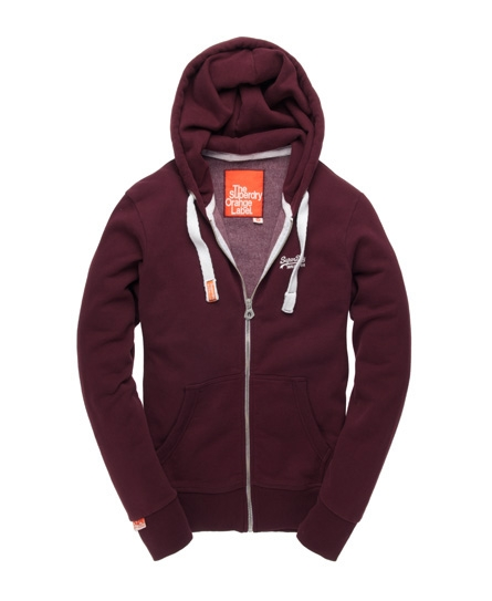 superdry orange label kapuzenjacke herren hoodies. Black Bedroom Furniture Sets. Home Design Ideas
