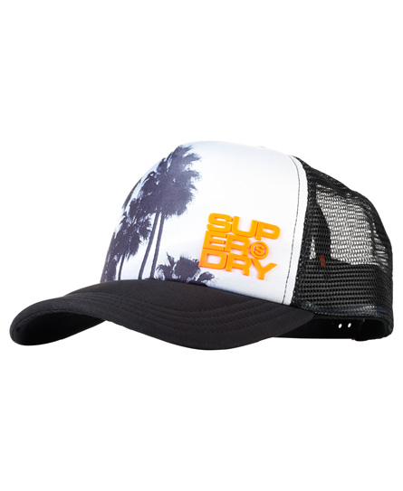 Superdry Palm Trucker caps