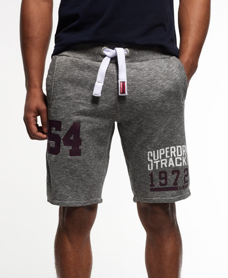 phoenix grey grit Superdry Trackster Sweat Shorts
